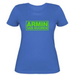 Женская футболка Armin - FatLine