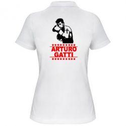 Женская футболка поло Arturo Gatti - FatLine