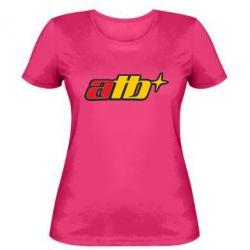 Женская футболка ATB - FatLine