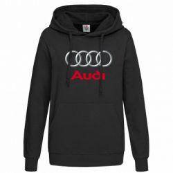Женская толстовка Audi 3D Logo - FatLine
