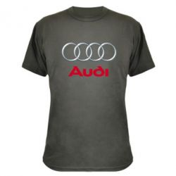 Камуфляжная футболка Audi 3D Logo - FatLine