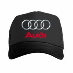 Кепка-тракер Audi 3D Logo - FatLine