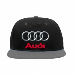 Снепбек Audi 3D Logo - FatLine