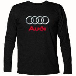 Футболка с длинным рукавом Audi 3D Logo - FatLine