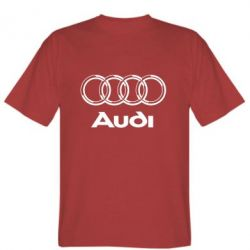 Мужская футболка Audi Big - FatLine