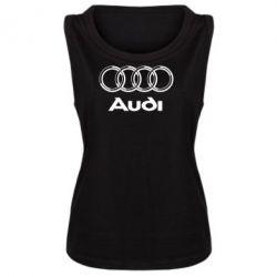 Женская майка Audi Big - FatLine