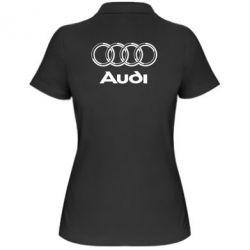 Женская футболка поло Audi Big - FatLine