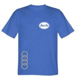 Мужская футболка Audi Logo - FatLine