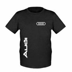 Детская футболка Audi Sport - FatLine