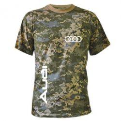 Камуфляжная футболка Audi Sport - FatLine