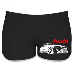 Женские шорты Audi Turbo