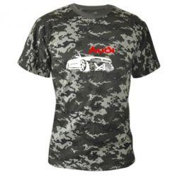 Камуфляжная футболка Audi Turbo