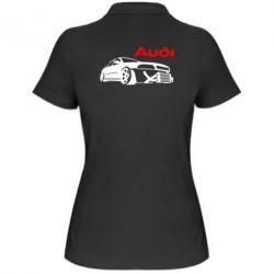 Женская футболка поло Audi Turbo - FatLine