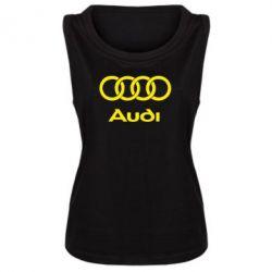 Майка жіноча Audi - FatLine