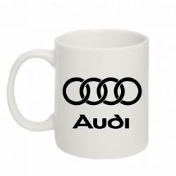 Кружка 320ml Audi - FatLine