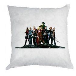 Подушка Avengers on the rock - FatLine