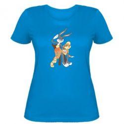 Женская футболка Бакс Банни - FatLine