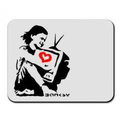 Коврик для мыши Bancsy TV - FatLine