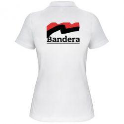 Женская футболка поло Bandera - FatLine