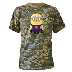 Камуфляжная футболка Barca - FatLine