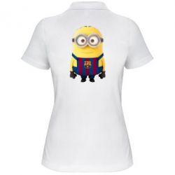 Женская футболка поло Barca - FatLine