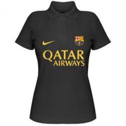 Женская футболка поло Барселона - FatLine