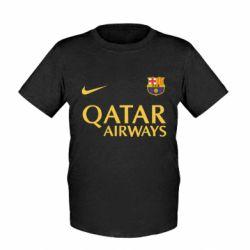 Детская футболка Барселона - FatLine