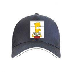 Кепка Барт в тюряге - FatLine