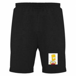 Мужские шорты Барт в тюряге - FatLine
