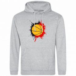 Толстовка Баскетбольный мяч - FatLine