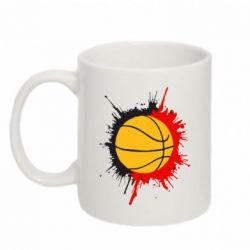 Кружка 320ml Баскетбольный мяч - FatLine