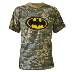 Камуфляжная футболка Batman 3D - FatLine