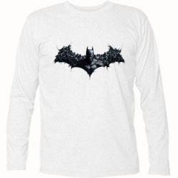 Футболка с длинным рукавом Batman Arkham Asylum - FatLine