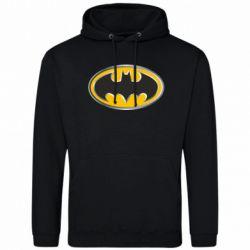 Мужская толстовка Batman Gold Logo - FatLine