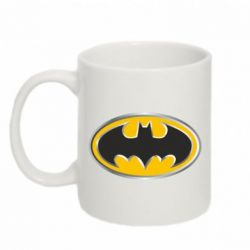 Кружка 320ml Batman Gold Logo - FatLine