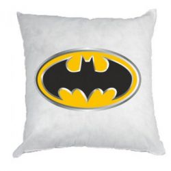 Подушка Batman Gold Logo - FatLine