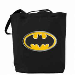 ����� Batman Gold Logo - FatLine