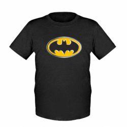 Детская футболка Batman Gold Logo - FatLine