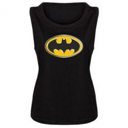 Женская майка Batman Gold Logo - FatLine