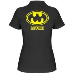 Женская футболка поло Batwoman - FatLine