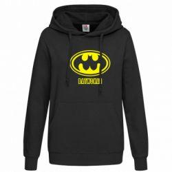 Женская толстовка Batwoman - FatLine