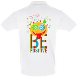 Футболка Поло Be positive - FatLine
