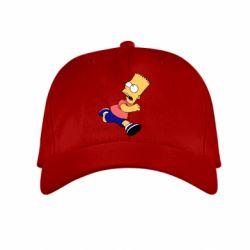 Детская кепка Беги, Барт, беги! - FatLine