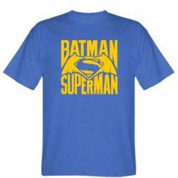 Мужская футболка Бэтмен vs. Супермен - FatLine