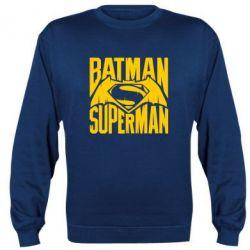 Реглан Бэтмен vs. Супермен - FatLine