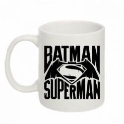 Кружка 320ml Бэтмен vs. Супермен - FatLine