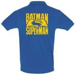 Футболка Поло Бэтмен vs. Супермен - FatLine