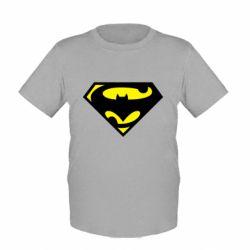 Детская футболка БэтСупермен - FatLine