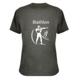 Камуфляжная футболка Biathlon - FatLine