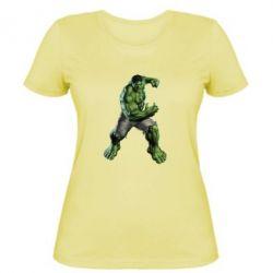 Женская футболка Big Hulk - FatLine